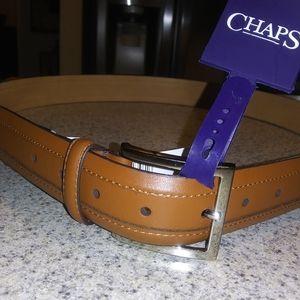 Chaps Italian Leather Belt Sz. 38/40